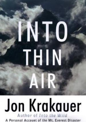 Into Thin Air by Jon Krakauer PDF Download